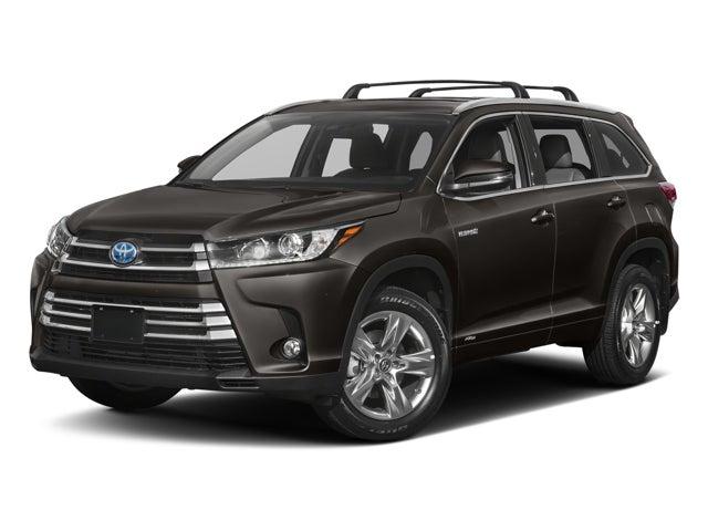2017 Toyota Highlander Hybrid Limited Platinum Toyota