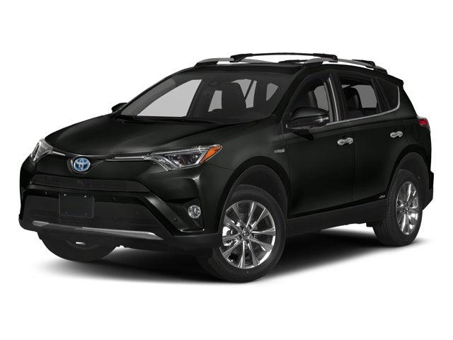 2018 Toyota Rav4 Hybrid Limited Toyota Dealer Serving
