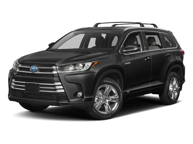 2018 Toyota Highlander Hybrid Limited Platinum Toyota